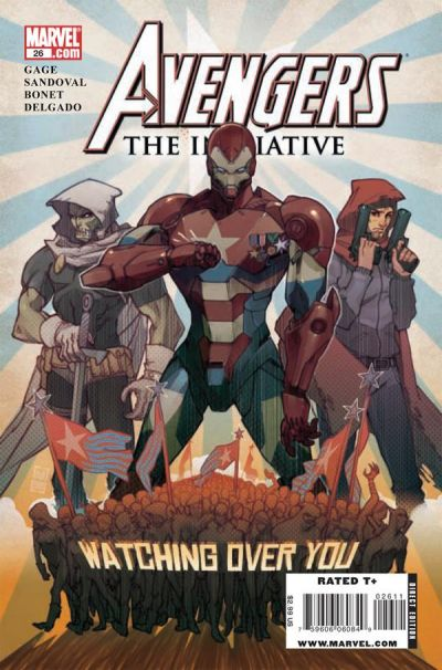 Cover for Avengers: The Initiative (2007 series) #26