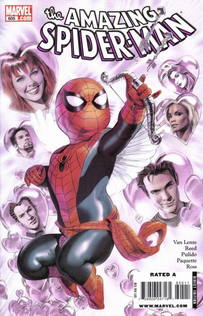Cover for The Amazing Spider-Man (Marvel, 1999 series) #605