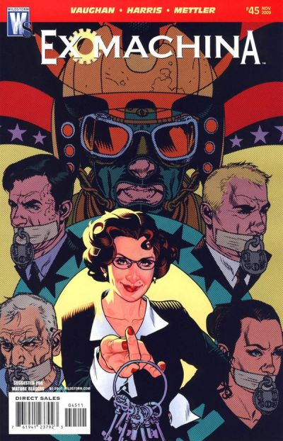 Cover for Ex Machina (DC, 2004 series) #45