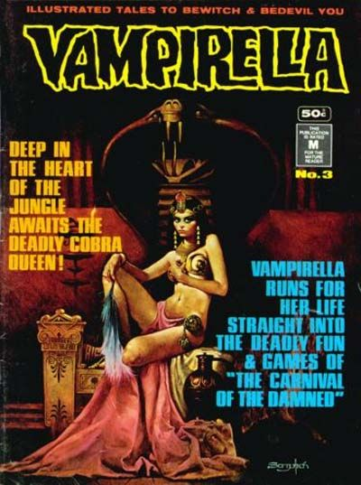 Cover for Vampirella (1974 series) #3