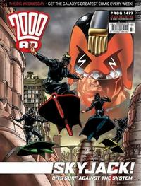 Cover Thumbnail for 2000 AD (Rebellion, 2001 series) #1477