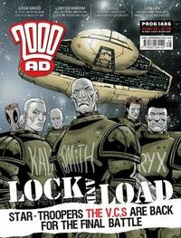 Cover Thumbnail for 2000 AD (Rebellion, 2001 series) #1486