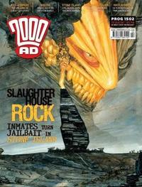 Cover Thumbnail for 2000 AD (Rebellion, 2001 series) #1502