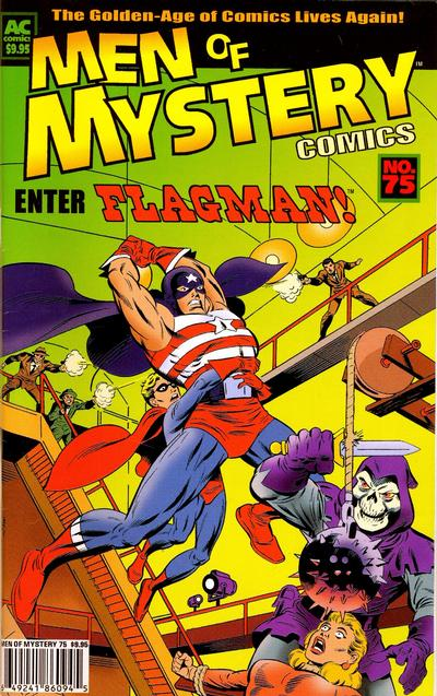 Cover for Men of Mystery Comics (AC, 1999 series) #75