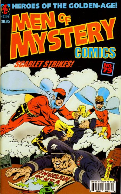 Cover for Men of Mystery Comics (AC, 1999 series) #79