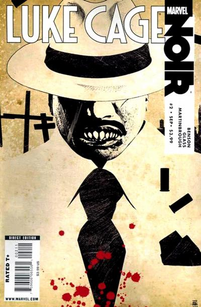 Cover for Luke Cage Noir (2009 series) #2