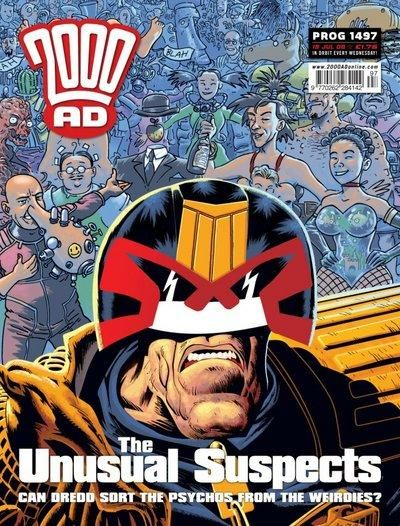 Cover for 2000 AD (Rebellion, 2001 series) #1497