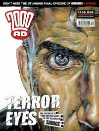 Cover Thumbnail for 2000 AD (Rebellion, 2001 series) #1535