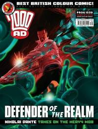 Cover Thumbnail for 2000 AD (Rebellion, 2001 series) #1539