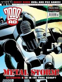 Cover Thumbnail for 2000 AD (Rebellion, 2001 series) #1543