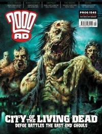 Cover Thumbnail for 2000 AD (Rebellion, 2001 series) #1545