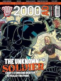 Cover Thumbnail for 2000 AD (Rebellion, 2001 series) #1596