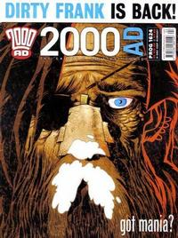 Cover Thumbnail for 2000 AD (Rebellion, 2001 series) #1624