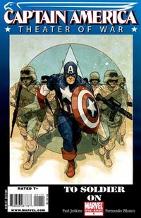 Cover Thumbnail for Captain America Theater of War: To Soldier On (Marvel, 2009 series) #1