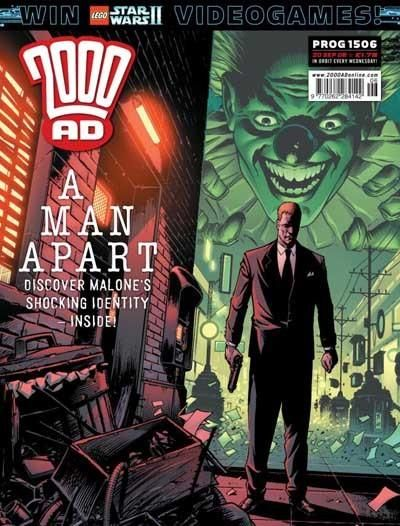 Cover for 2000 AD (Rebellion, 2001 series) #1506
