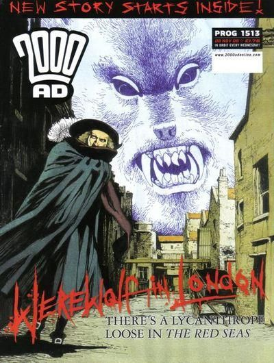 Cover for 2000 AD (Rebellion, 2001 series) #1513