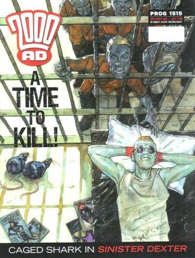 Cover for 2000 AD (Rebellion, 2001 series) #1515