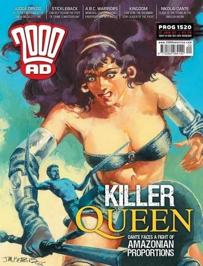 Cover for 2000 AD (Rebellion, 2001 series) #1520