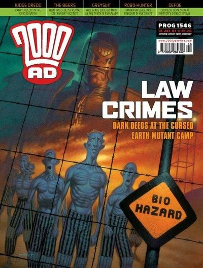 Cover for 2000 AD (Rebellion, 2001 series) #1546