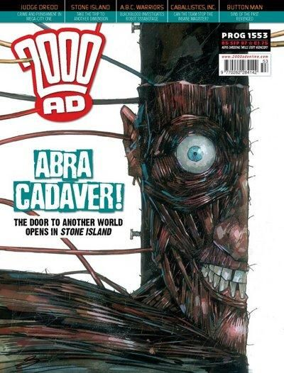 Cover for 2000 AD (Rebellion, 2001 series) #1553