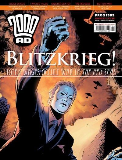 Cover for 2000 AD (Rebellion, 2001 series) #1565