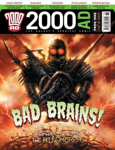 Cover for 2000 AD (Rebellion, 2001 series) #1568