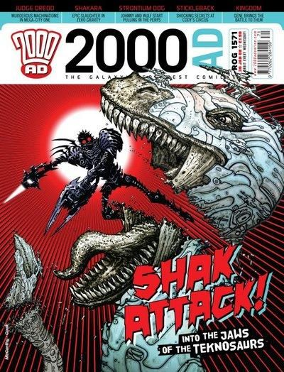 Cover for 2000 AD (Rebellion, 2001 series) #1571
