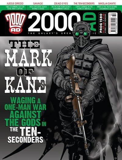 Cover for 2000 AD (Rebellion, 2001 series) #1580