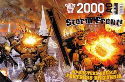 Cover for 2000 AD (Rebellion, 2001 series) #1641