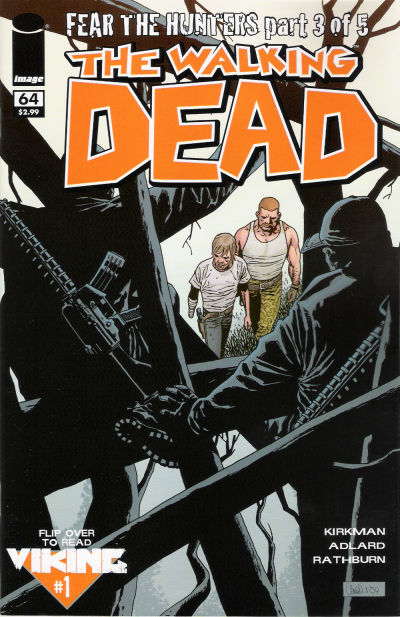 Cover for The Walking Dead (Image, 2003 series) #64