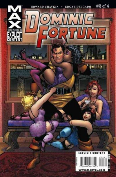 Cover for Dominic Fortune (Marvel, 2009 series) #2