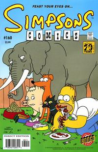 Cover Thumbnail for Simpsons Comics (Bongo, 1993 series) #160