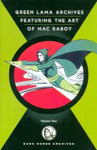 Cover Thumbnail for Green Lama Featuring the Art of Mac Raboy (Dark Horse, 2008 series) #2