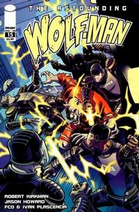 Cover Thumbnail for The Astounding Wolf-Man (Image, 2007 series) #15