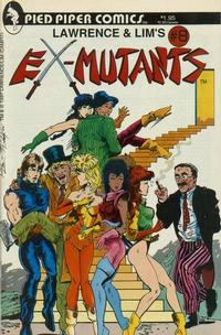 Cover Thumbnail for Lawrence & Lim's Ex-Mutants (Pied Piper Comics, 1987 series) #8