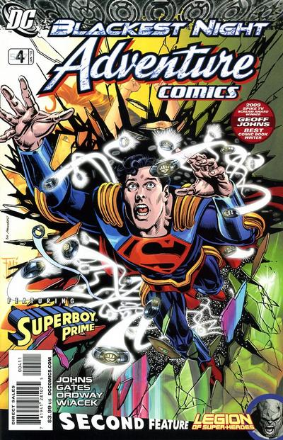 Cover for Adventure Comics (2009 series) #4 / 507 [Regular Direct Cover]