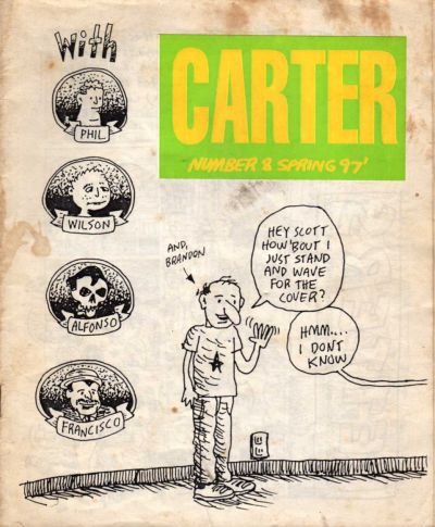 Cover for Carter (Larry Edge, 1993 series) #8