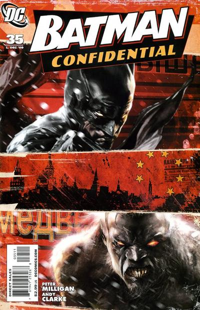 Cover for Batman Confidential (DC, 2007 series) #35