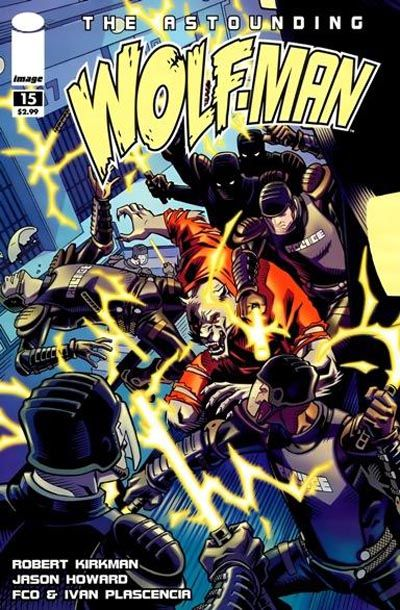 Cover for The Astounding Wolf-Man (2007 series) #15