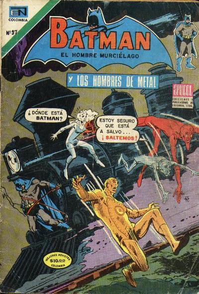 Cover for Batman (1970 series) #97