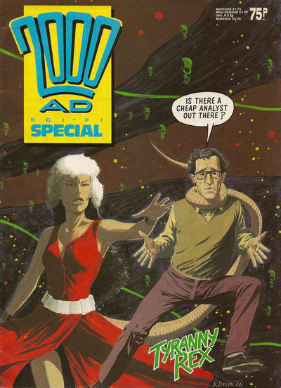 Cover for 2000 AD Sci-Fi Special (Fleetway Publications, 1988 series) #1988