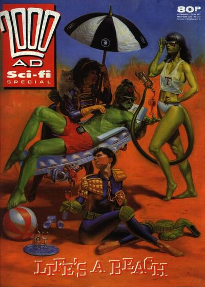 Cover for 2000 AD Sci-Fi Special (Fleetway Publications, 1988 series) #1989