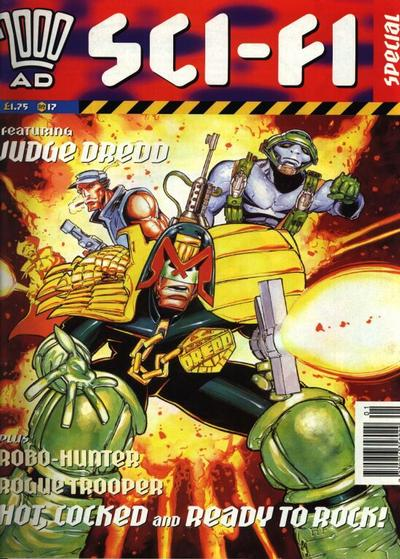 Cover for 2000 AD Sci-Fi Special (Fleetway Publications, 1988 series) #1994