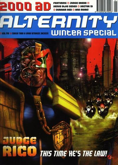 Cover for 2000 AD Winter Special (Fleetway Publications, 1988 series) #1995