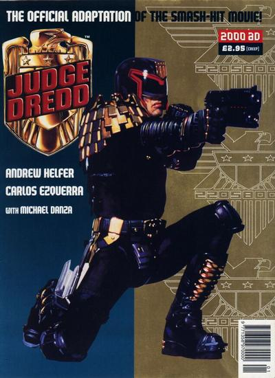 Cover for Judge Dredd: The Official Adaptation (Fleetway Publications, 1995 series)