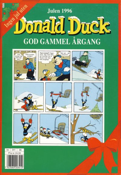 Cover for Donald Duck God gammel rgang (1996 series) #1996