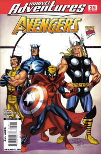 Cover for Marvel Adventures The Avengers (Marvel, 2006 series) #39