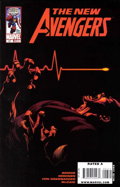 Cover for New Avengers (Marvel, 2005 series) #57 [Super Hero Squad Variant]