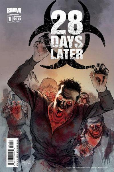 Cover for 28 Days Later (2009 series) #1 [Cover D - Promo Art]