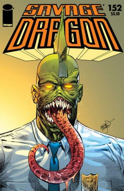 Cover for Savage Dragon (Image, 1993 series) #152